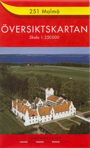 Översiktskartan Sverige 1:250.000 - topographische Übersichtskarten Schweden 1:250.000