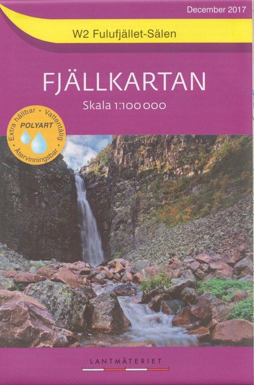 Fjällkartan 1:100.000 und 1:50.000 - Wander- und Wintersportkarten für das südliche schwedische Fjäll