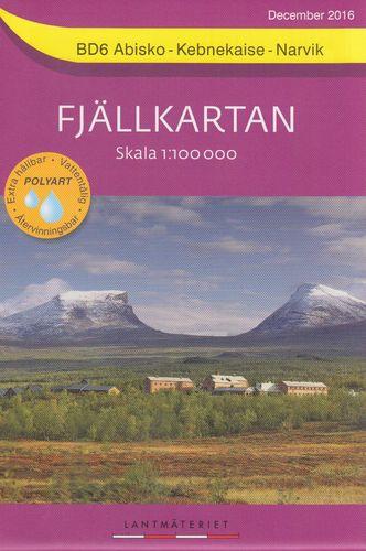 Fjällkartan 1:100.000 - Wanderkarten für Nordschweden