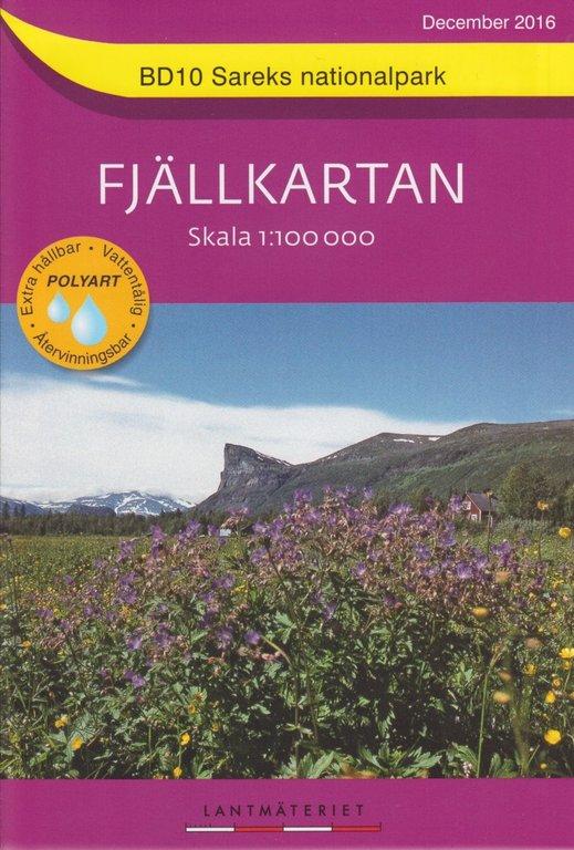 Fjällkarten 1:100.000 - Wanderkarten für das nördliche schwedische Fjäll