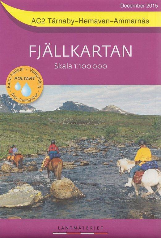 Fjällkartan 1:100.000 - Wander- und Wintersportkarten für Nordschweden - Landschaft Lappland