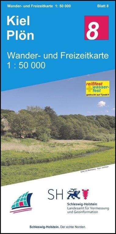 Wanderkarten, Radkarten, Freizeitkarten Schleswig-Holstein
