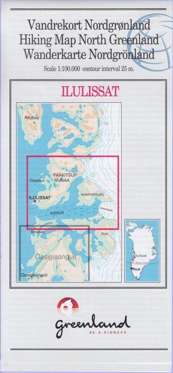 Wanderkarten Grönland