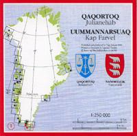 Topographische Übersichtskarten Grönland - Saga Maps 1:250.000