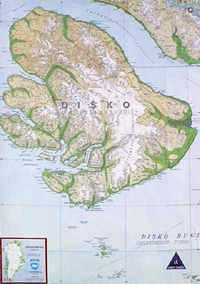 Sagamaps Grönland 1:250.000