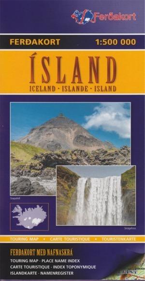 Straßenkarten, Wanderkarten und Reiseführer Island
