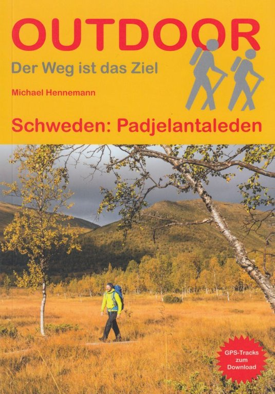 Trekkingführer und Wanderkarten für den Padjelantaleden