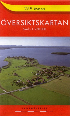 topographische Übersichtskarte Schweden 1:250.000 - Översiktskartan Sverige 1:250.000