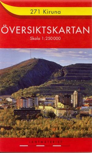 Översiktskartan Sverige 1:250.000 (ehemals Röda Kartan)