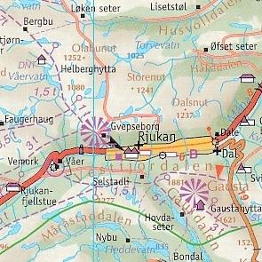 Karte Norwegen.Cappelen Karte Blatt 1 Sud Norwegen 1 335 000