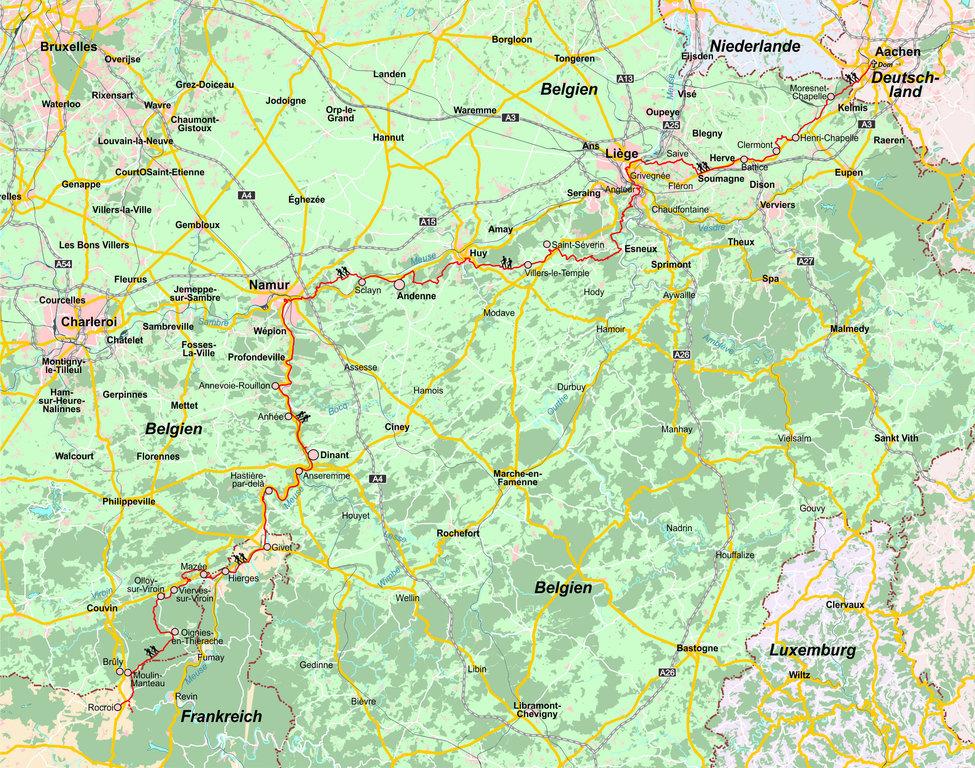 139 Belgien Jakobsweg Geobuchhandlung Kiel