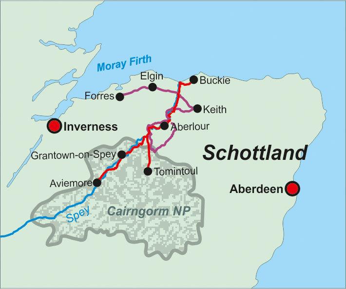 Schottland Speyside Way Whisky Trail 043 Geobuchhandlung Kiel