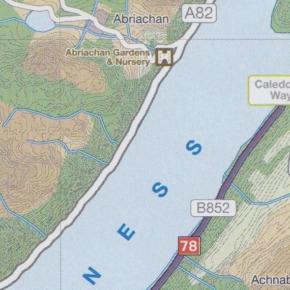 Cycle Map 47: Great Glen & Loch Ness 1:110.000 - Geobuchhandlung Kiel