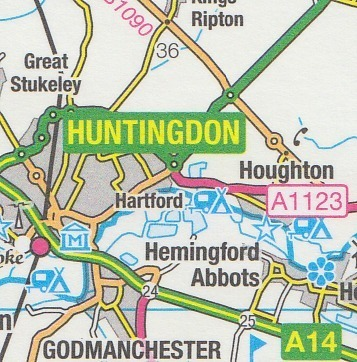 OS Road Map 8: South East England 1:250.000 ...