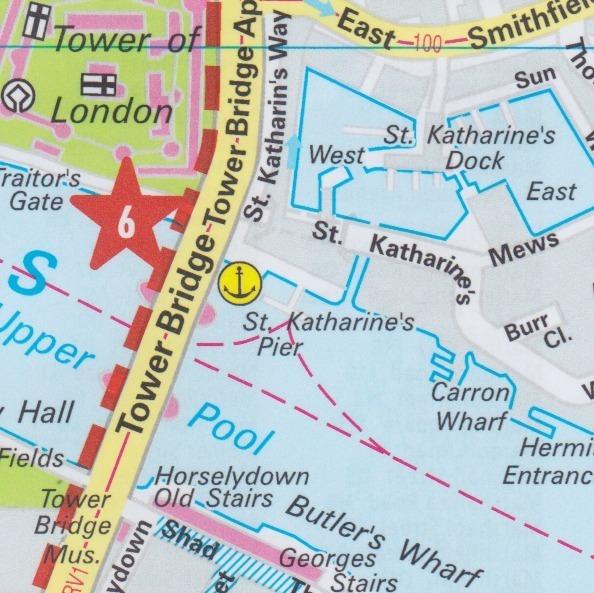 London, Marco Polo City Map 1:12.000 - Geobuchhandlung Kiel on